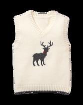 Deer Sweater Vest