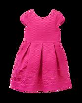 Dot Jacquard Dress