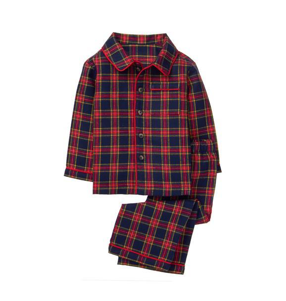 Tartan Pajama Set