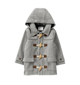 Wool Toggle Coat