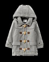 Wool Toggle Coat