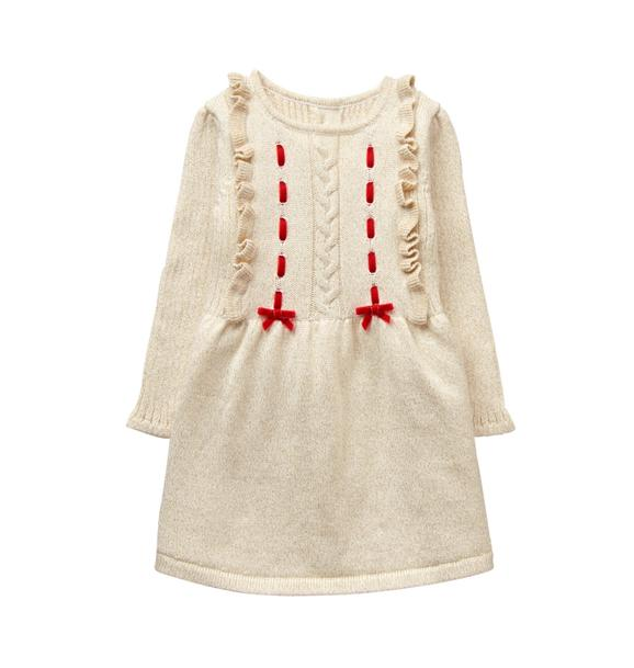 Shimmer Sweater Dress