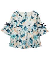 Bloom Peplum Top