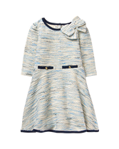 Bouclé Bow Dress