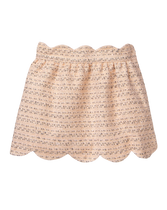 Scalloped Bouclé Skirt