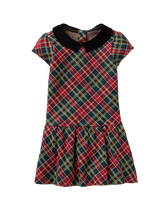 Plaid Dropwaist Dress