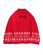 Fair Isle Sweater Cape