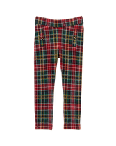 Plaid Knit Pant