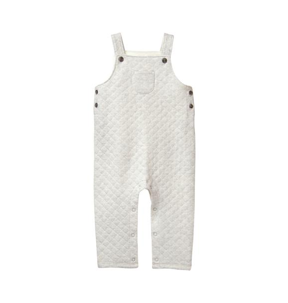 Quilted Knit Overall