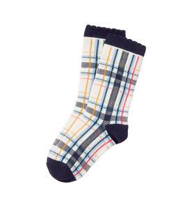 Plaid Sock