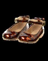 Patent Leopard Flat