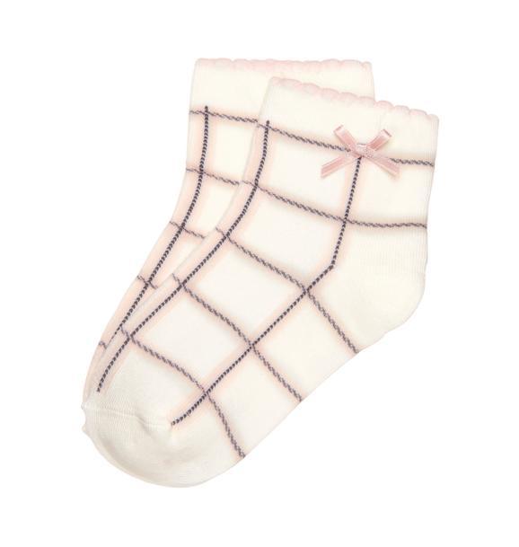 Windowpane Sock