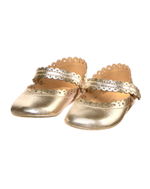Metallic Crib Shoe