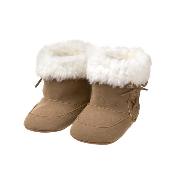 Moccasin Crib Bootie