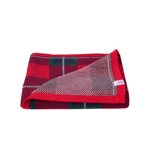 Plaid Sweater Blanket