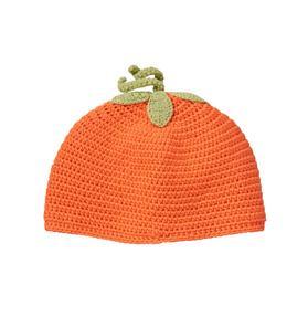 Pumpkin Knit Beanie