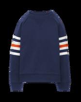 Striped Arm Pullover