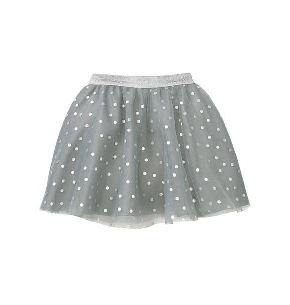 Dot Tulle Skirt