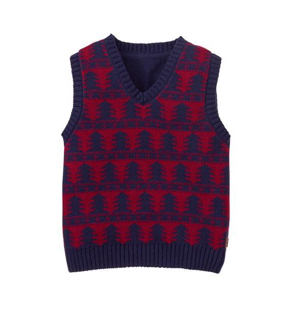Tree Sweater Vest