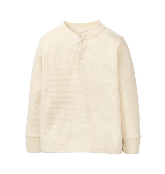 Textured Henley Shirt