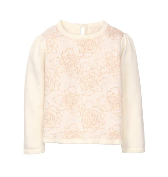 Shimmer Rose Sweater
