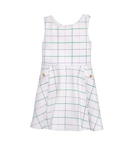 Windowpane Dress