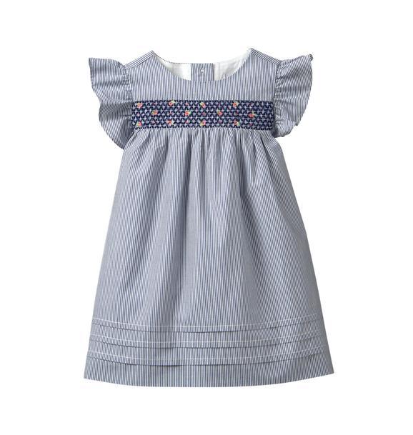Striped Smock Dress