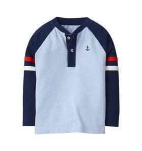 Anchor Henley Tee