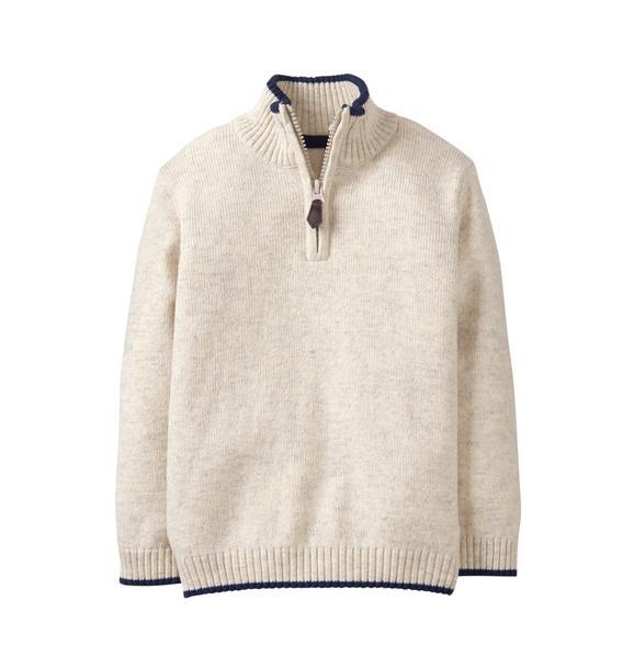 Mock Neck Pullover