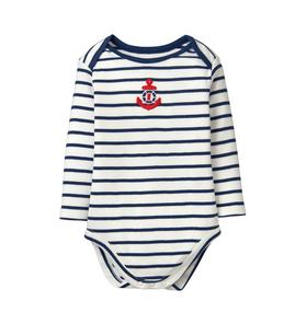 Striped Anchor Bodysuit