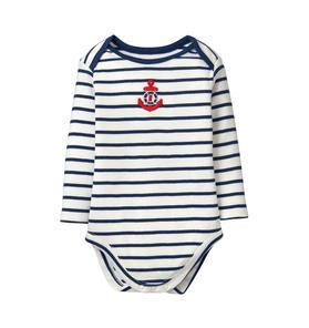 Striped Anchor Bodysuit