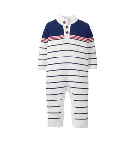 Striped Sweater 1-Piece