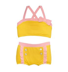 Textured 2-Piece Swimsuit