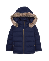 Puffer Hooded Jacket