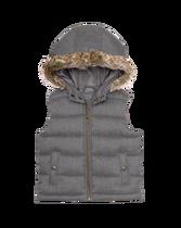 Puffer Hooded Vest