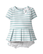 Pleated Striped Set