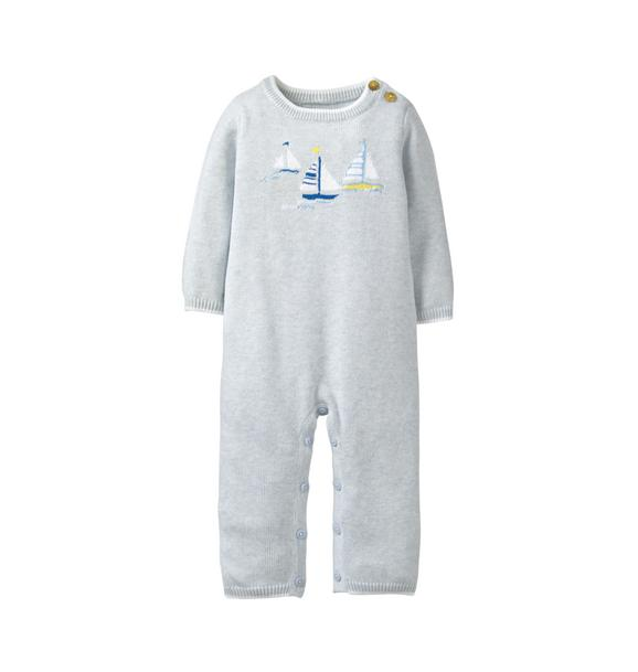 Sailboat Sweater 1-Piece