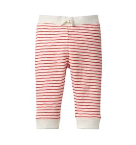 Striped Quilted Pant