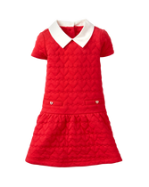 Heart Jacquard Dress