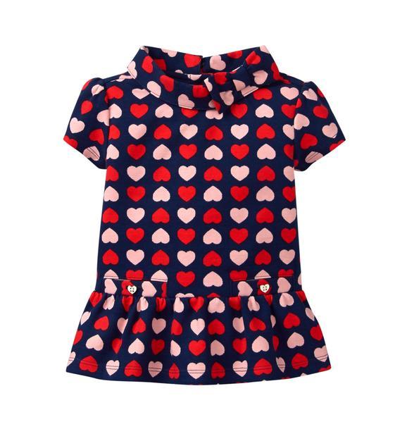 Heart Peplum Top