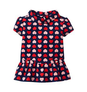 Heart Peplum Top