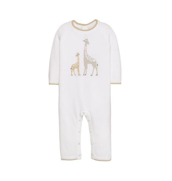 Giraffe Sweater 1-Piece