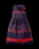 Floral Scarf Print Dress