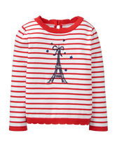 Striped Paris Sweater
