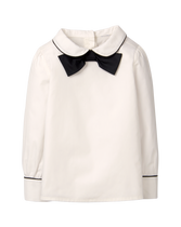 Bow Collar Top