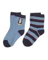 Dog & Stripe Sock 2-Pack