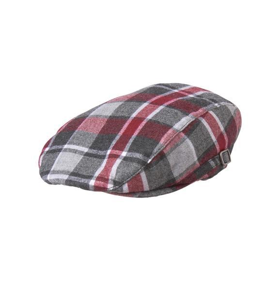 Plaid Wool Cap