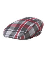 Plaid Wool Cap