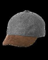 Wool Contrast Cap