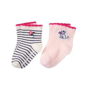 Scalloped Sock 2-Pack
